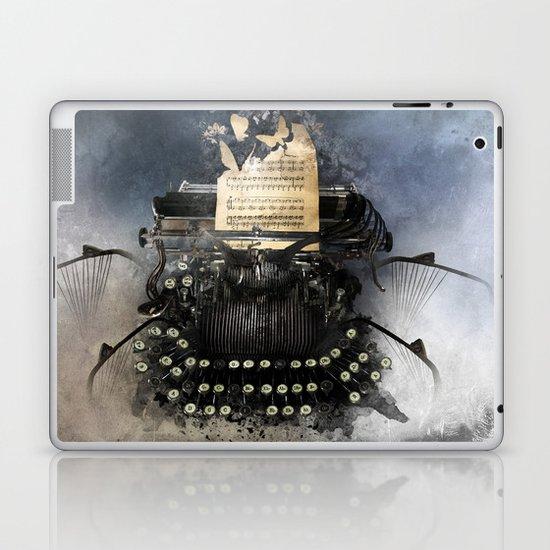 Piandemonium - Writers' Waltz Laptop & iPad Skin