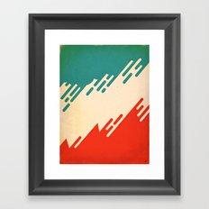 (I've Seen) Fire & Rain Framed Art Print