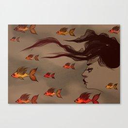 Deep Ocean By Stefana Argirova Canvas Print