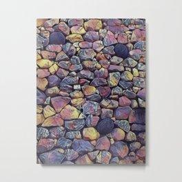 Newgrange stones Metal Print