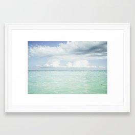Emerald Waters Framed Art Print