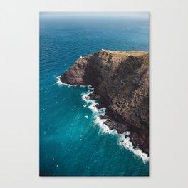 Makapuu Point Lighthouse, Oahu Hawaii Canvas Print