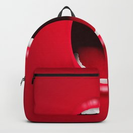 Scream mouth Backpack