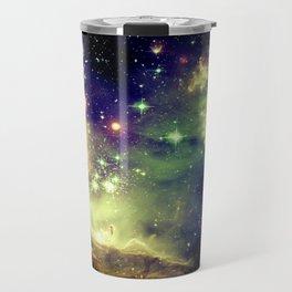 Nebula Galaxy (deep pastels) Travel Mug