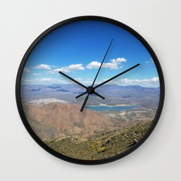 Overlooking Horseshoe Lake from Humboldt Wall Clock