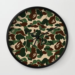 BAPE CAMO Wall Clock