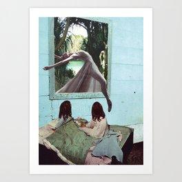 Dreams of escape Art Print