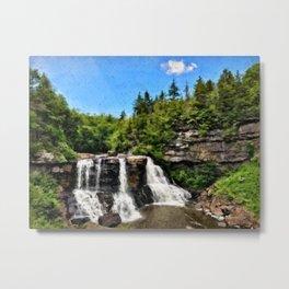 Blackwater Falls, West Virginia Metal Print