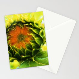 About to Bloom Stationery Cards