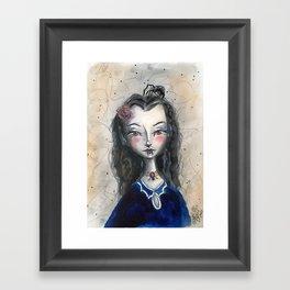 Vampiress Framed Art Print