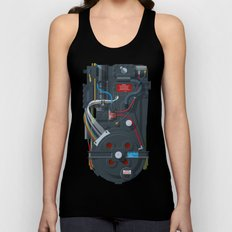 Proton pack, Ghostbusters Unisex Tank Top
