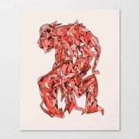 ed sheeran Canvas Prints featuring Phys Ed by Luke Ramsey