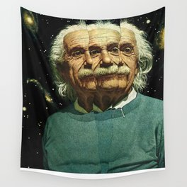 The splitting of the atom changed everything Wall Tapestry