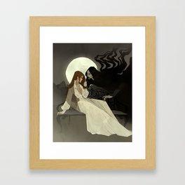 Spells of Shadow Framed Art Print