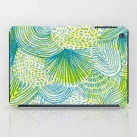 lime iPad Cases featuring Space lime by Marcelo Romero
