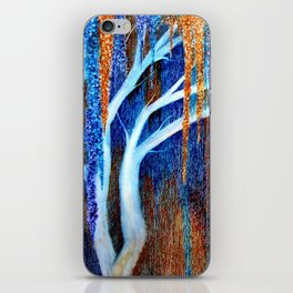 Weeping willow iPhone Skin