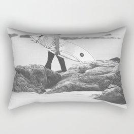 catch a wave IV Rectangular Pillow