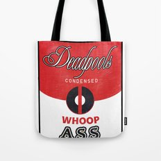 Deadpool's Can of Whoop-Ass! Tote Bag