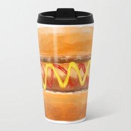 Hot Dog in a Bun Travel Mug