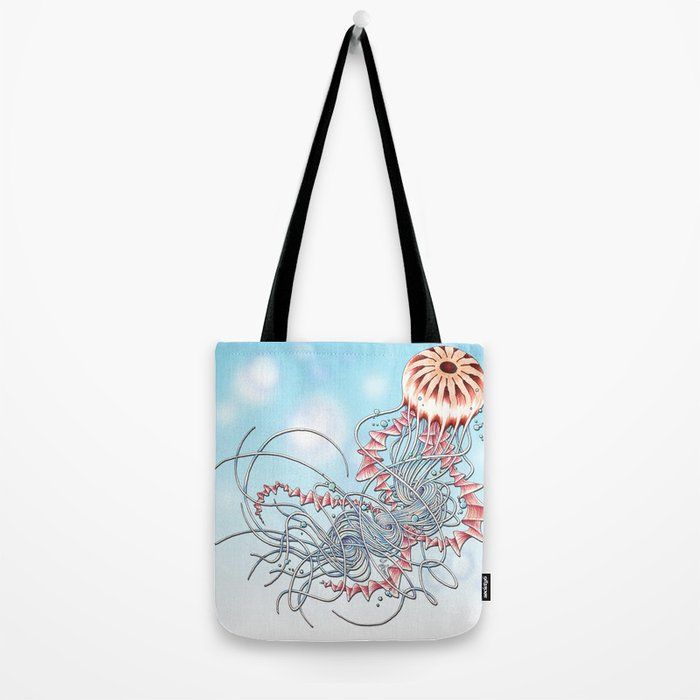 Chrysaora hysoscella Tote Bag