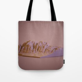 slicing the world Tote Bag