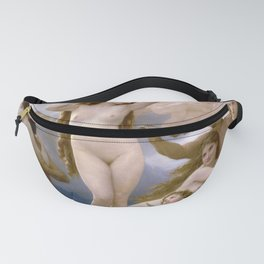 "William-Adolphe Bouguereau ""The Birth of Venus"" Fanny Pack"