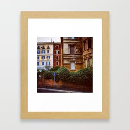 The colors of Rome Framed Art Print