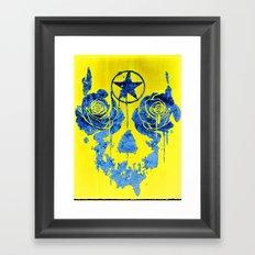 Pentagram / Crying roses  Framed Art Print