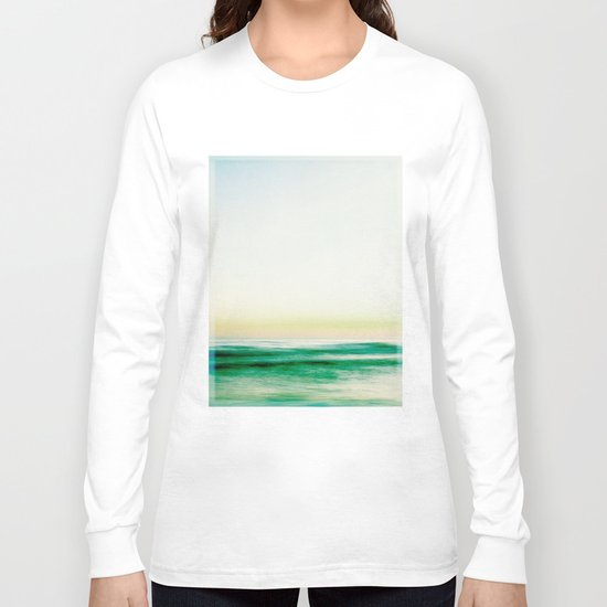 where the sea meets the sky Long Sleeve T-shirt
