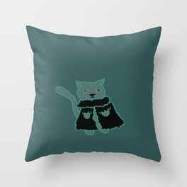 Lord Fancy Throw Pillow
