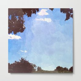 Summer Afternoon Metal Print