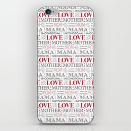 Mother's Day Love iPhone Skin