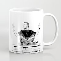 liam payne Mugs featuring liam by otp-hedgefrog