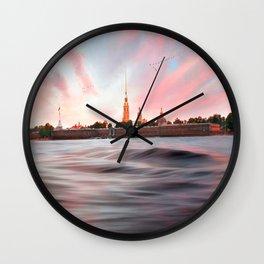 Peter & Paul Fortress Wall Clock