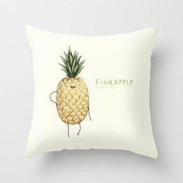 Fineapple Throw Pillow