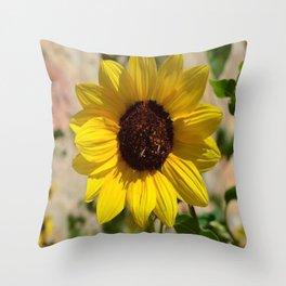 Yellow Bliss  Throw Pillow