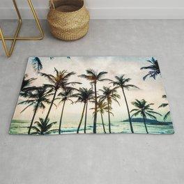 No Palm Trees Rug