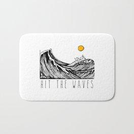 Hit The Waves Bath Mat