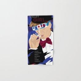 80s TEEN MOVIES :: VALLEY GIRL Hand & Bath Towel