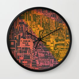 Where Are YOU / Density Series Wall Clock