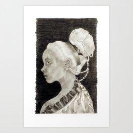 Concubine Art Print