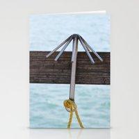hook Stationery Cards featuring Hook by Henrik Lehnerer