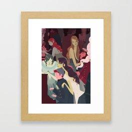 Fish House Punch Framed Art Print