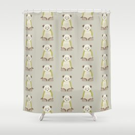 Whimsical Giant Panda Shower Curtain