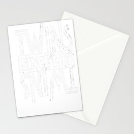 Twins-Since-1987---30th-Birthday-Gifts Stationery Cards