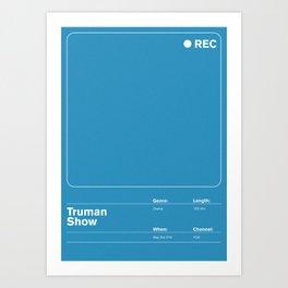 Truman Show Art Print