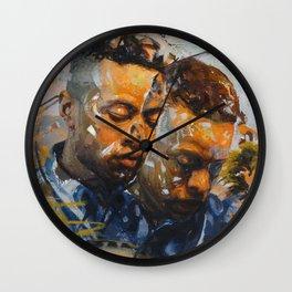 """Lost in Translation"" Wall Clock"