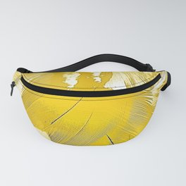 Golden Feathers Fanny Pack