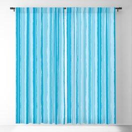 Frozen Jiggle Stripes Blackout Curtain