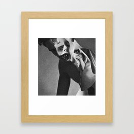 Eyes that lies Framed Art Print